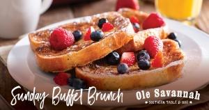 Sunday Breakfast Buffet @ Ole Savannah