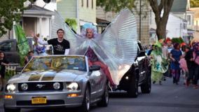 Kingston's O+ Parade event in Kingston, NY