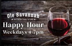 Happy Hour @ Ole Savannah!